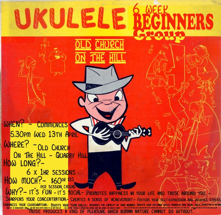 ukulele beginners group